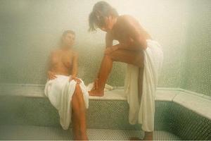 Секс в бане хамам
