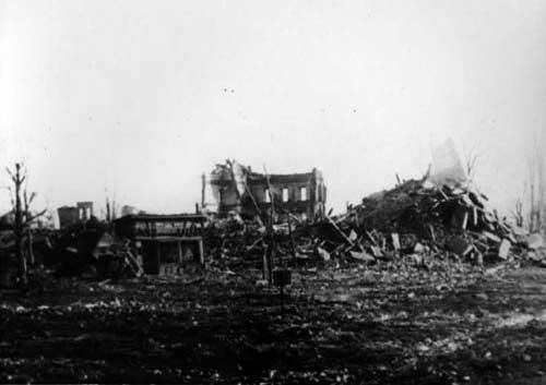 Воронеж во время ВОВ.  Фотоальбомы.  1943 год, разруха от фашистов.